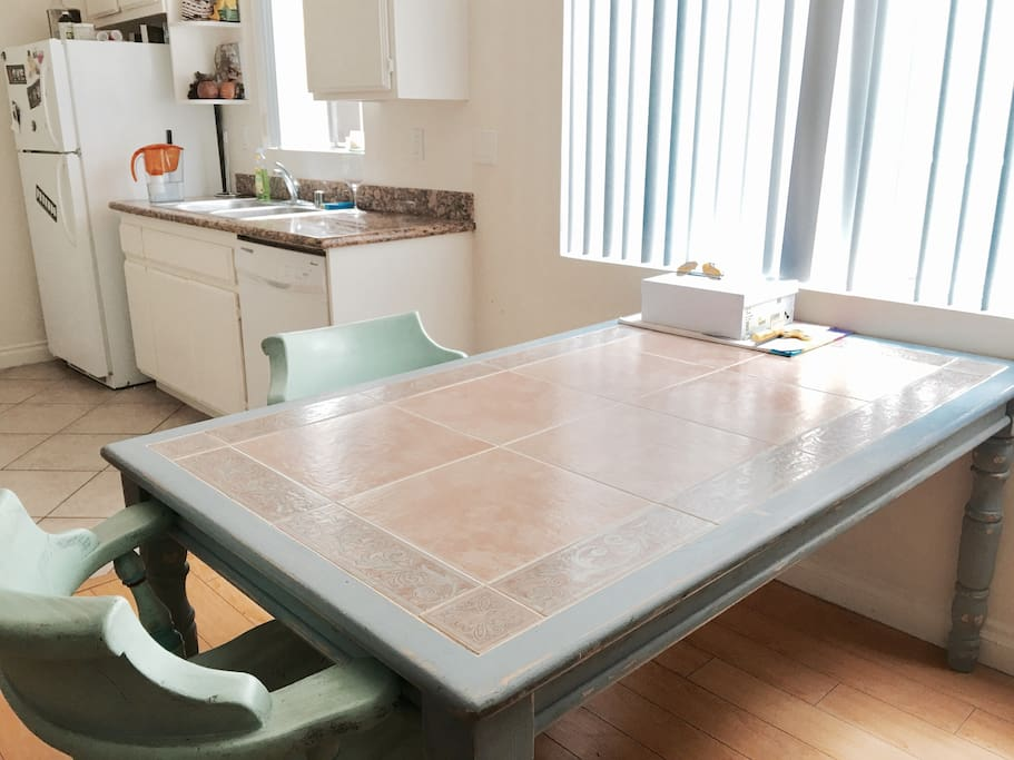 Dining table :) kitchen area Natural Daylight