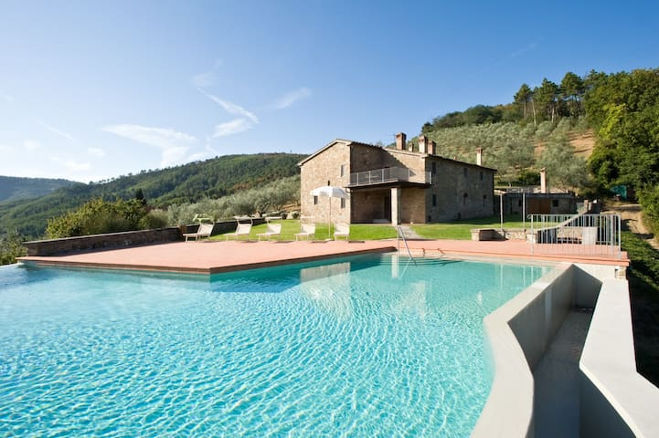San Biagio FarmHouse-Terrace & Pool - Serravalle Pistoiese