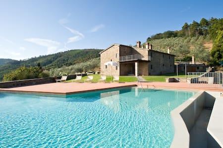 San Biagio FarmHouse-Terrace & Pool - Serravalle Pistoiese - Villa