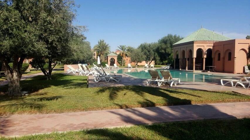 Villa 3 chambres marrakech palmeraie