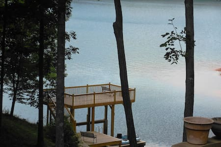 Keowee/Clemson Private 2 BR Waterfront Suite - Seneca - Rumah