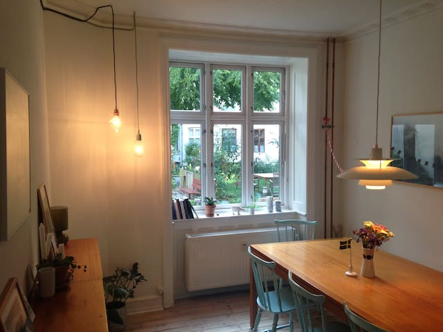 Charming 3 room flat in Nørrebro