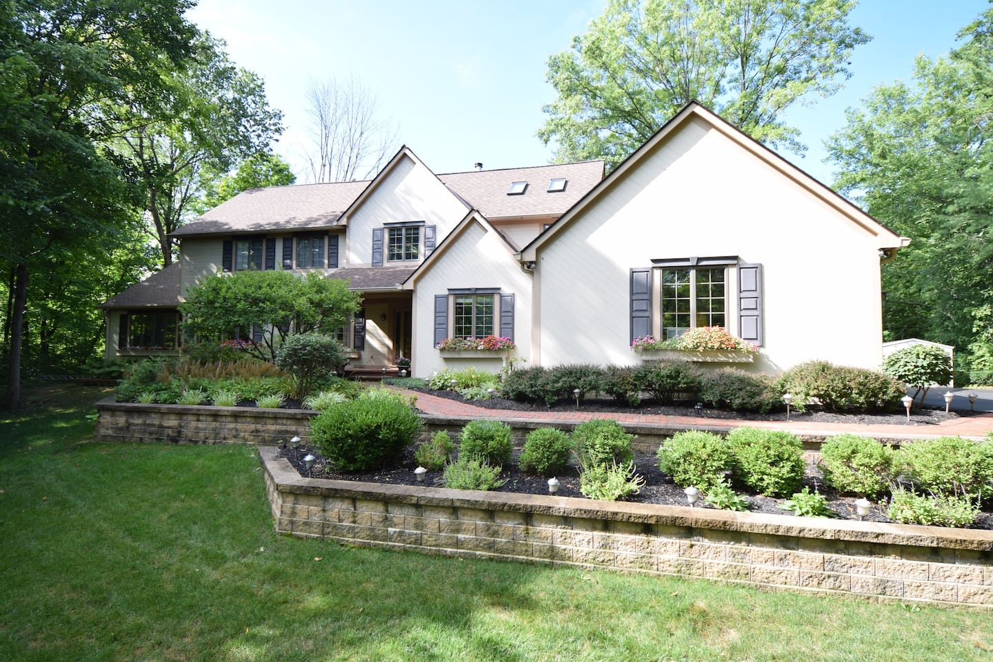 Beautiful home on 1.2 acres in a wooded setting
