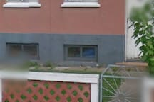 Apartment and front door