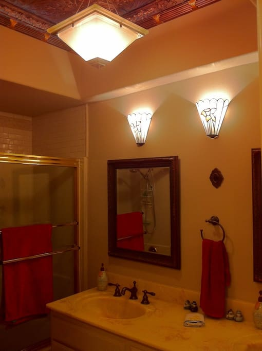 Guest bathroom (we have our own bathroom)