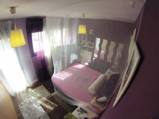 Double room+Wifi+Private Bathroom - Alcorcón - Wohnung