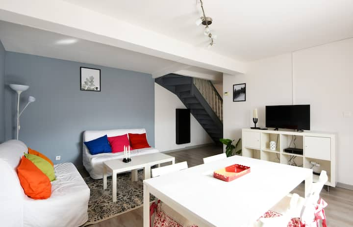 Charming 2-bedroom close to the train station of Béthune – Welkeys