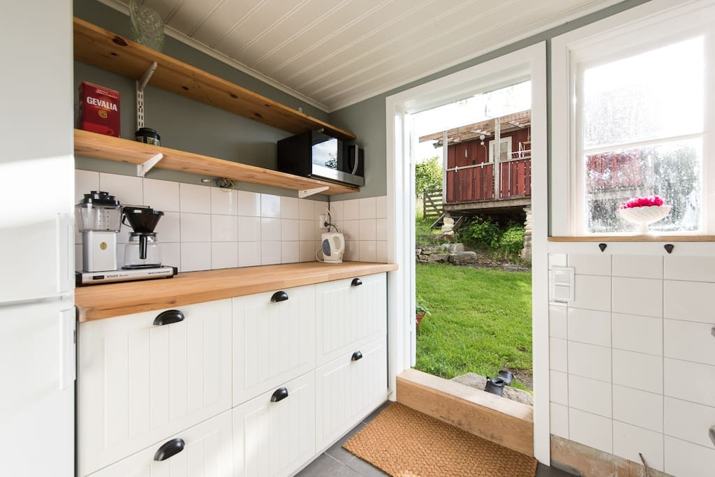 1The kitchen. Well equipped with all you need for a comfortabe stay