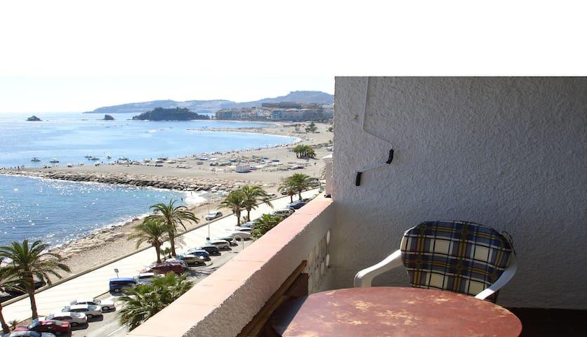 Beachfront spacious apartment Almuñ - Almuñécar - Apartment