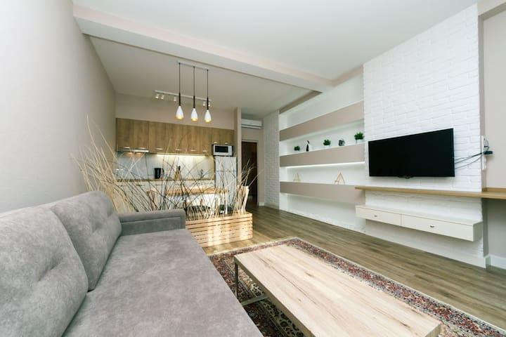 Светлая квартира на Гоголевской