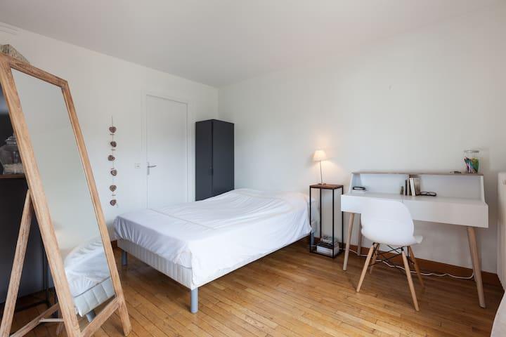 Appt lumineux en coeur de ville - Rennes - Apartamento