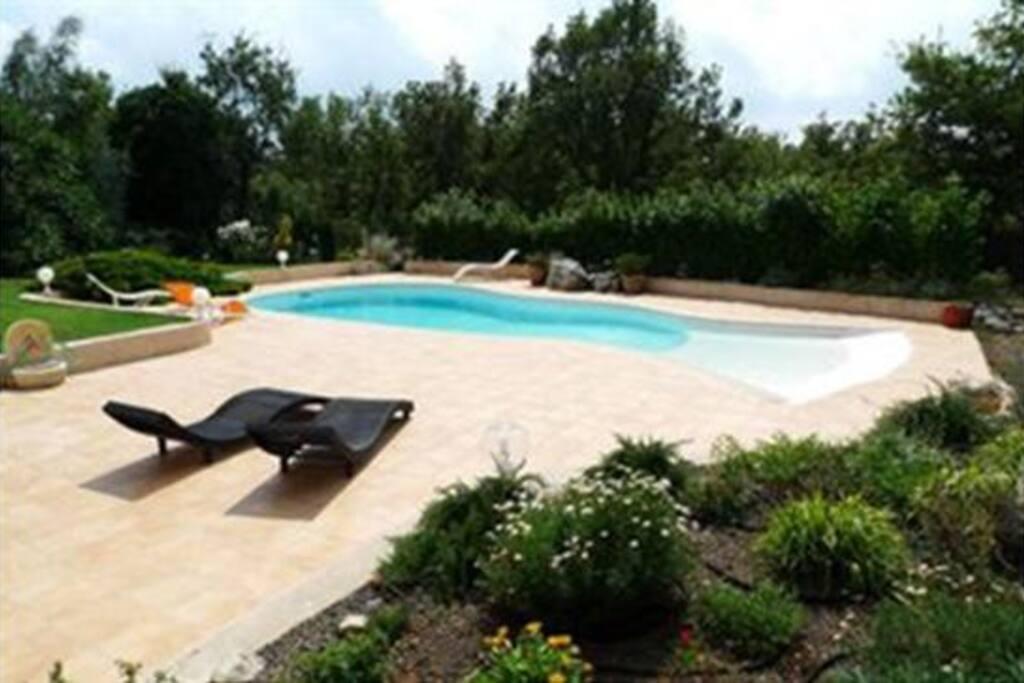 L'espace piscine ...