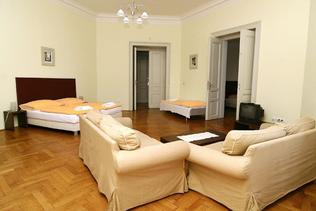 Vltava 3 - living room - view B