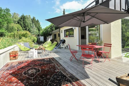 Traumhafte Villa im Grünen 200qm - Tübingen - Vila