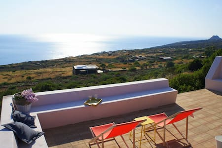 Lovely Dammuso with outstandig view - Pantelleria
