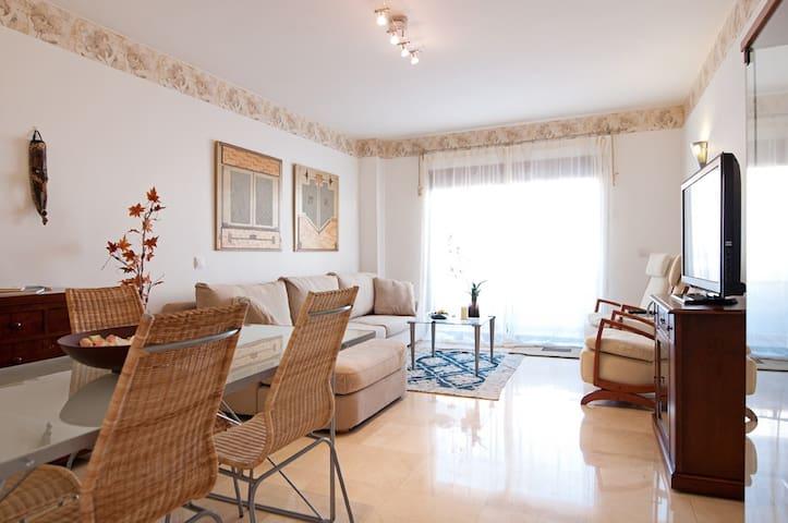 beachfront 2 bedrooms and carpark - Palmas de Gran Canaria - Apartament