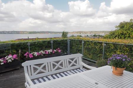 Cozy villa with panoramic sea views - Kolding - Casa