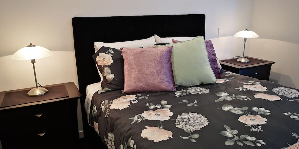 Comfortable beds with high quality linen