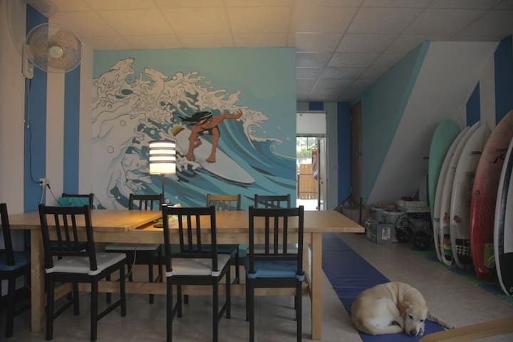 Surfer House in Douli - 6 mixed dorm - Chenggong Township - Dům