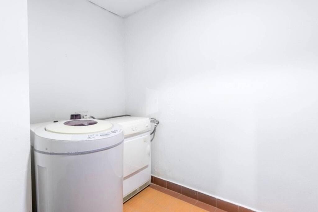 Laundrettes - washing machine & dryer