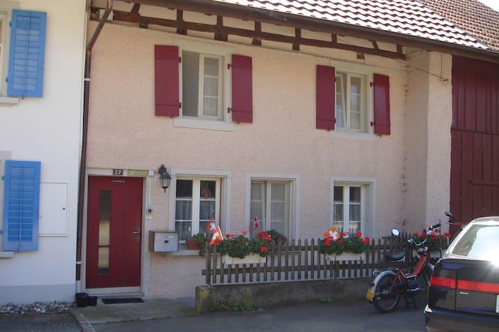 Gemütliches Bauernhaus - Baldingen - Huis