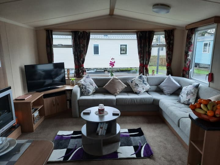 1 minute walk from the complex with decking