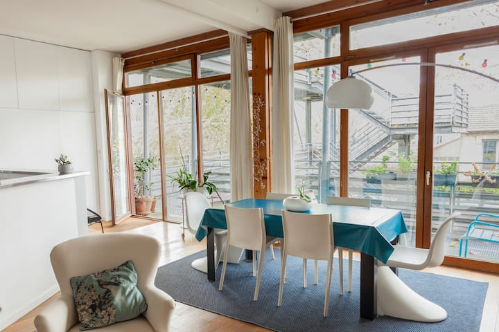 Loft cosy et calme de 100 m2 aux portes de Paris