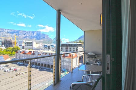 Fantastic urban suite with Table Mountain views - Kaapstad - Appartement