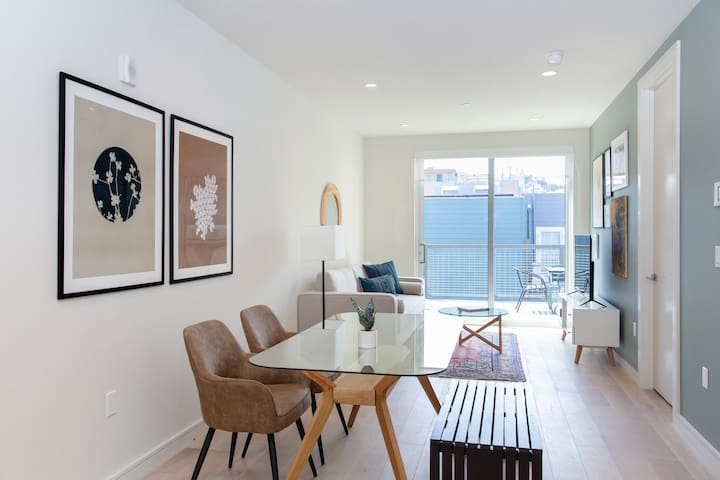 Sonder | Capp Apartments | Simple 1BR + Balcony