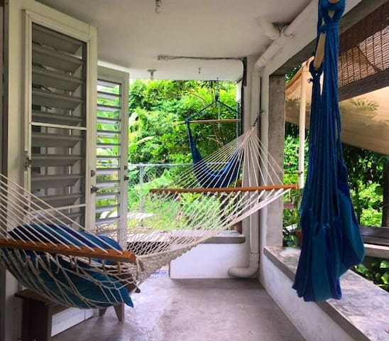 Tropical Peaceful House in Ponce (Private Room)