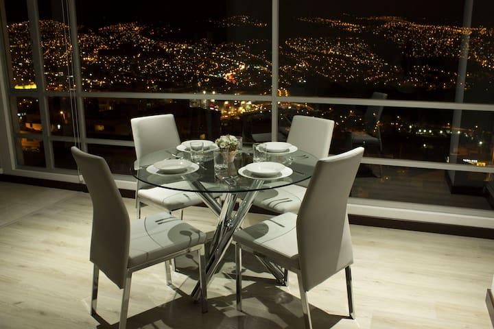 Departamento de lujo-Nort Hermosa vista luxury apt