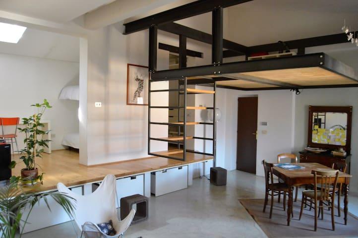 Casa Riccio - Open space - แมนโตวา - ลอฟท์