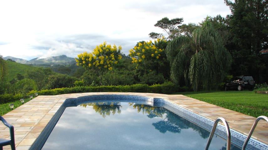 Aconchegante Sítio em Cunha - lazer e privacidade - Cunha - Cottage