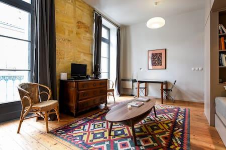Superbe studio Centre ville  40 m2 - Jardin Public - Chartrons, Bordeaux - Apartamento