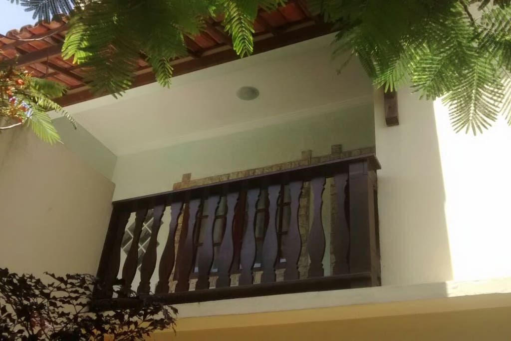Varanda da casa - área externa