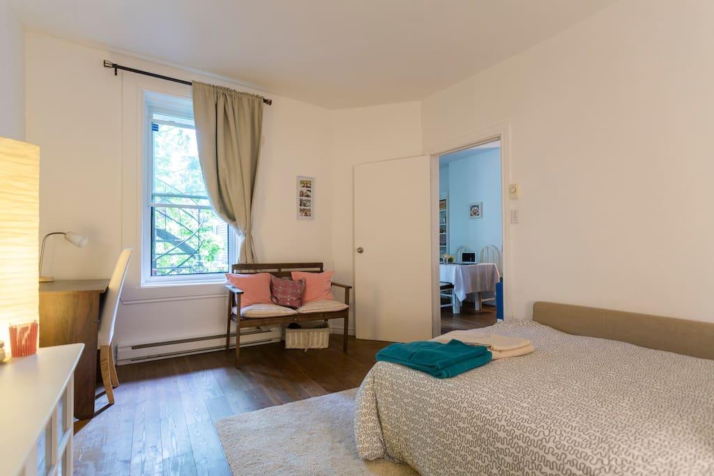 Chambre priv e au coeur du plateau appartamenti in for Sono pour chambre