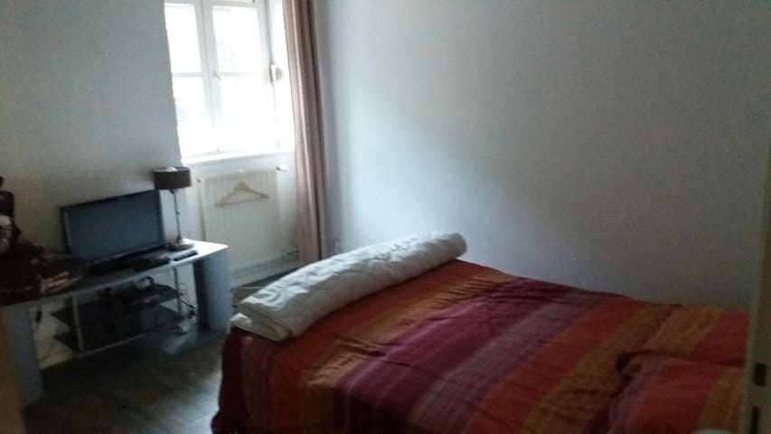 Bedroom 1 bed 2 persons - Vienne - Wohnung