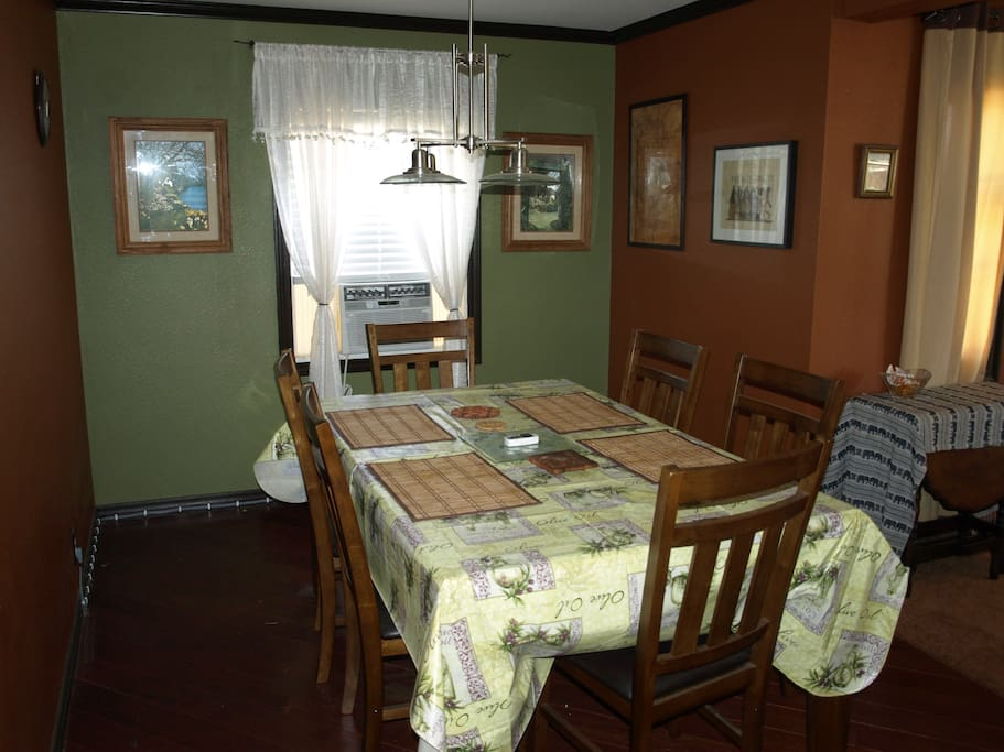 Family style dining table