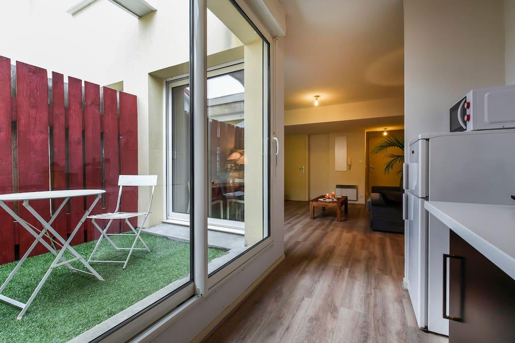 T2 bordeaux avec parking appartements louer bordeaux for Appartement a louer bordeaux centre t2
