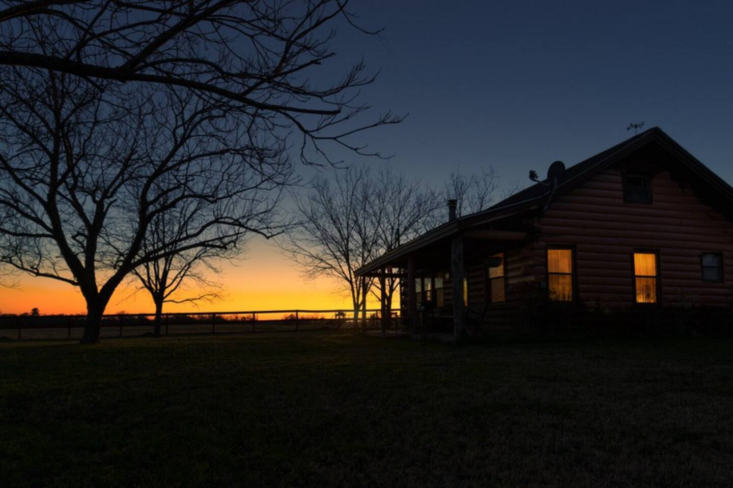 The sunsets at Fossil Tree Farm are Amazing!  Come see for yourself.