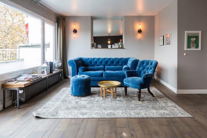 City: Boutique-Apartment,2Terrassen