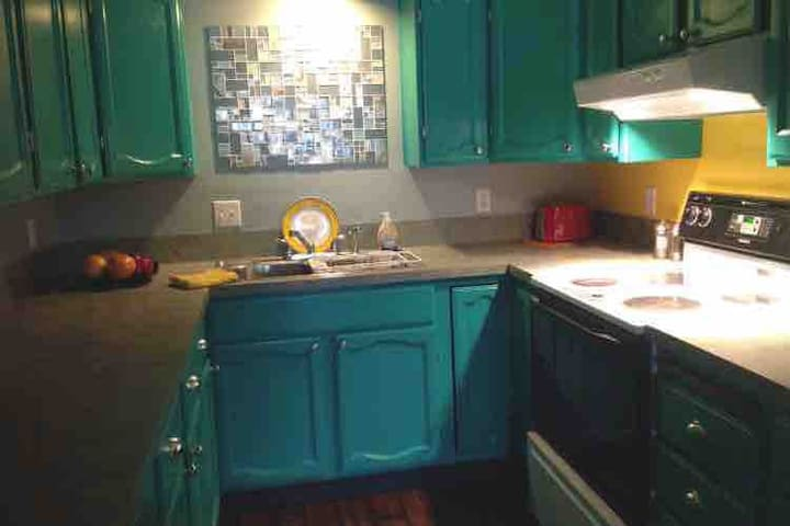 Daylight basement apartment centrally located