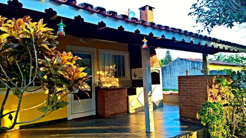 Casa Frente Para o Mar -  Praia da Juréia - Iguape