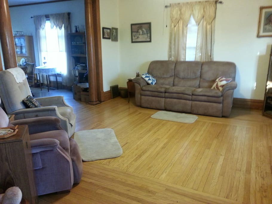 This is the living room, the first room after entering the house.