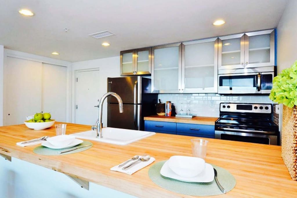Kitchen at The Drayton Towers by Stay Alfred