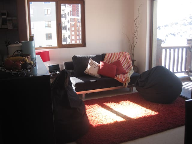 Fully equipped apt in Valle Nevado - Valle Nevado - Apartemen