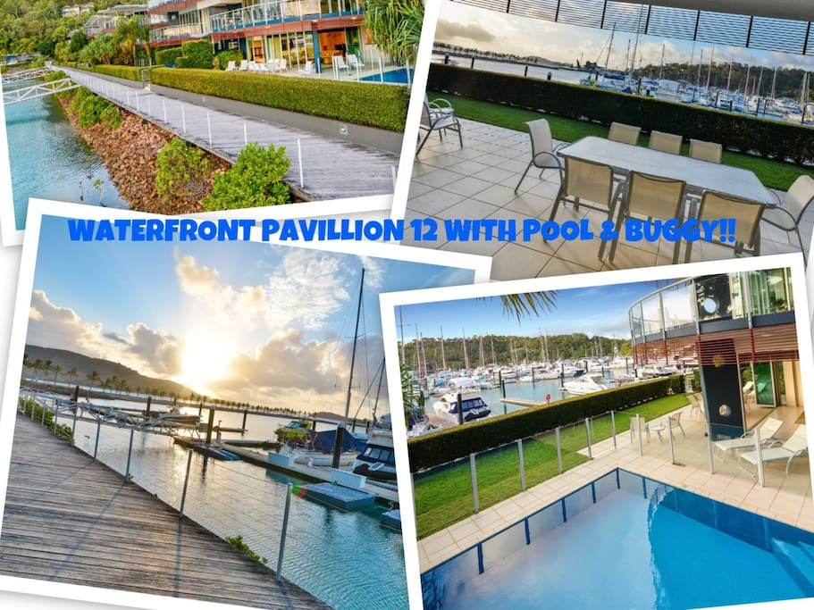 Pavillion 12 Waterfront 4 Bedroom W Pool Buggy Apartments For Rent In Hamilton Island