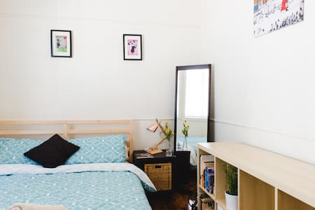 Spacious room 8km from the city - Rumah
