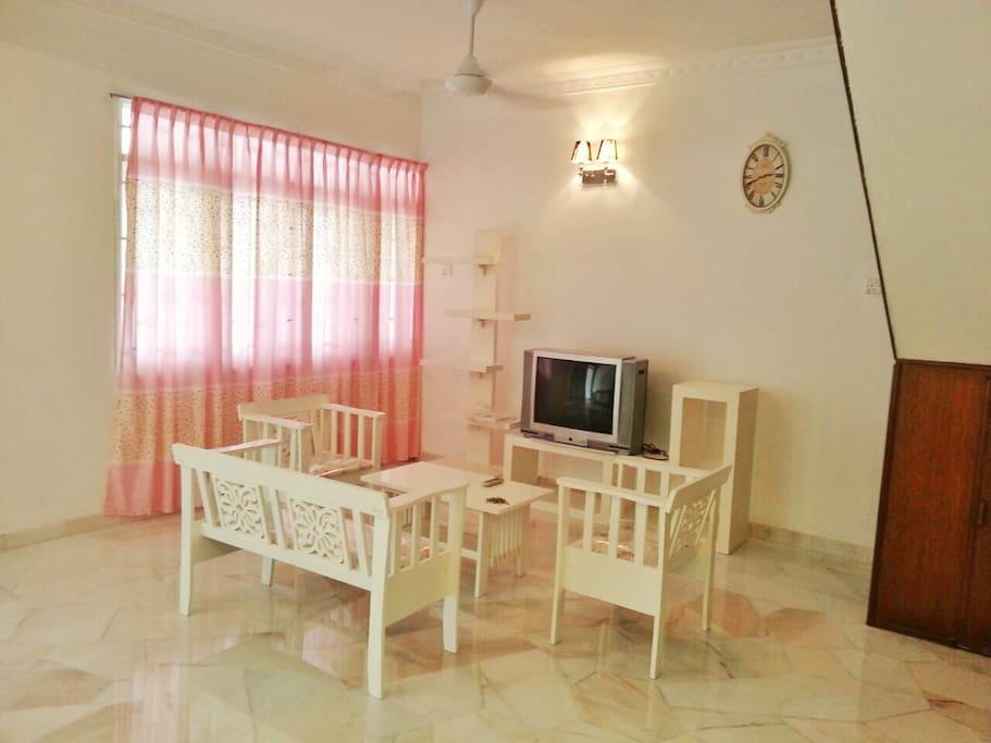 Ipoh Homestay - Living Hall