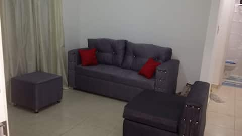 2 bedrooms apartment,  feel like home!!!!